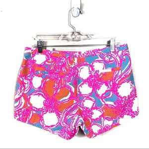 Lilly Pulitzer Shorts - Lilly Pulitzer pink adie shorts pink tropical 6